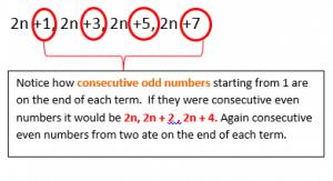 Algebraic Proof example 2.1