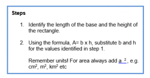Area and Perimeter example 1.4