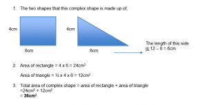 Area and Perimeter example 3.2
