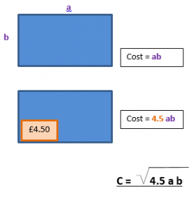 Changing the subject of a formula wordproblem b.4