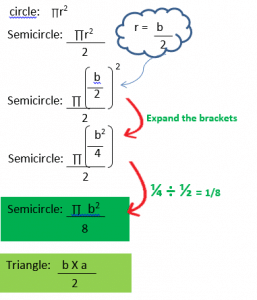 Changing the subject of a formula wordproblem d.2