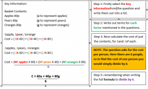 Changing the Subject of the Formula example 3