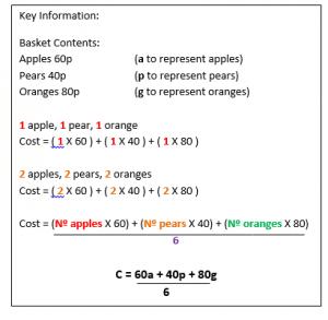 writing Formula example3.1