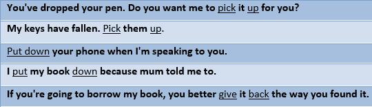 Phrasal verbs (2)-example2