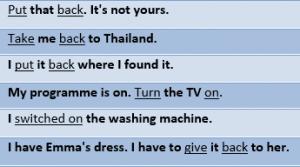 Phrasal verbs (2)-example3
