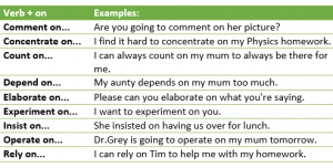 Verb + preposition-example13